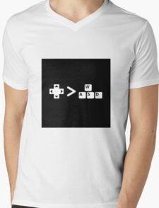 console gamer Mens V-Neck T-Shirt