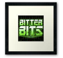 Bitter Bits Framed Print