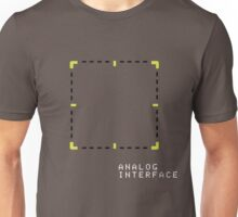 Analog Interface (on Gray) Unisex T-Shirt