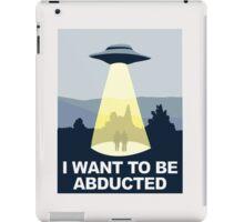 Abducted iPad Case/Skin