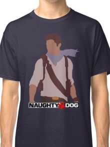 Uncharted 3 - Minimalist Drawing Classic T-Shirt