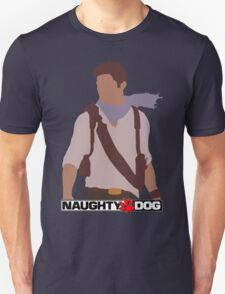 Uncharted 3 - Minimalist Drawing Unisex T-Shirt