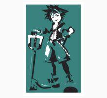 Kingdom Hearts - Sora (Teal) One Piece - Long Sleeve