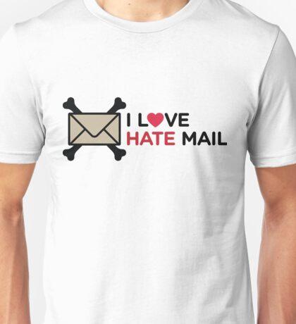 I Love Hate Mail Unisex T-Shirt