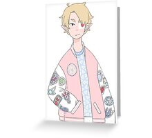 Pastel Link Greeting Card