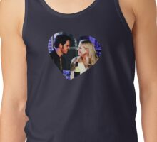 Captain Swan Heart Design 1 Tank Top
