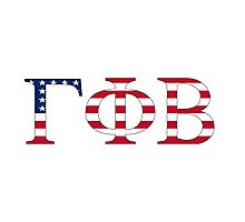 Gamma Phi Beta - USA Photographic Print