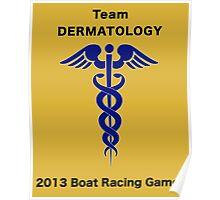 Team Dermatology - Boat Racing Games Poster