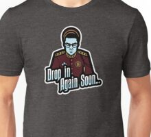 Drop In Again Soon Unisex T-Shirt