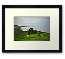 Torrey Pines North Course No. 6 Framed Print
