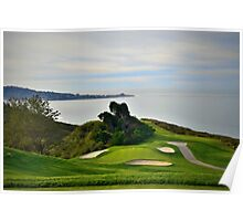 Torrey Pines North Course No. 6 Poster