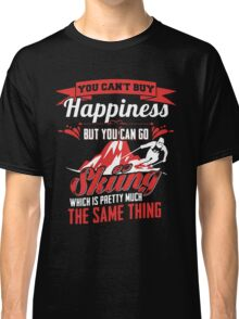 Skiing Is Happiness Classic T-Shirt