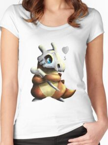 Cubone Women's Fitted Scoop T-Shirt