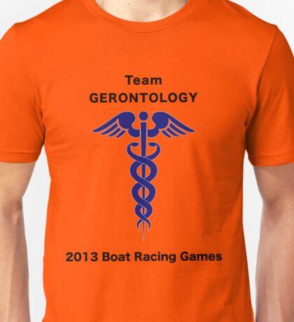 Team Gerontology - Boat Racing Games Unisex T-Shirt