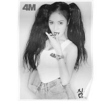 hyuna 4M act7 2 Poster
