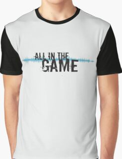 """All in the Game - """"The Wire"""" - Dark Graphic T-Shirt"""