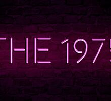 The 1975 Neon Sign by Matty Sievers