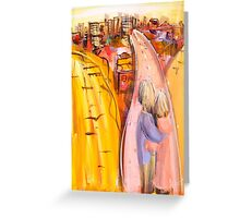 Beside You Greeting Card