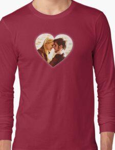 Captain Swan Heart Design 4 Long Sleeve T-Shirt