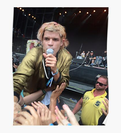 crowd surf Poster