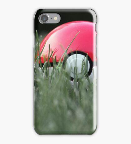 Pokeball in Grass iPhone Case/Skin
