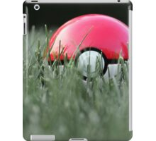 Pokeball in Grass iPad Case/Skin