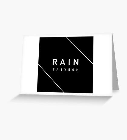 Girls' Generation (SNSD) Taeyeon 'Rain' Greeting Card