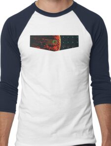 Death Star Targeting Computer Men's Baseball ¾ T-Shirt