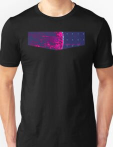 Death Star Targeting Computer Synthwave T-Shirt