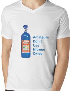 Amateurs Don't Use Nitrous Oxide Mens V-Neck T-Shirt