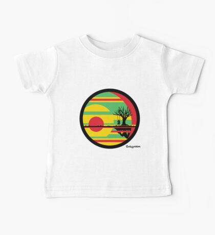 Sunset Swing Swag Baby Tee