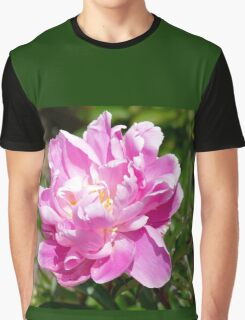 Perfect Pink Peony - Southland NZ Graphic T-Shirt