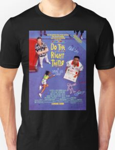 Do The Right Thing Movie Poster Unisex T-Shirt