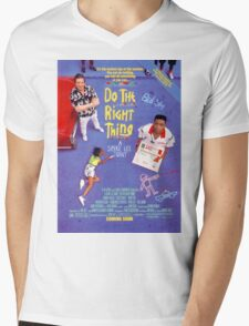 Do The Right Thing Movie Poster Mens V-Neck T-Shirt