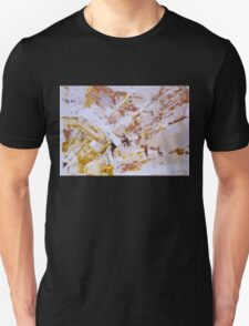SUN. If there were no clouds, we should not enjoy the sun - Original Art Large Wall Art Modern Abstract Expressionism Painting Unisex T-Shirt
