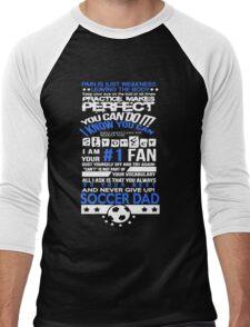 Tough Soccer Dad Men's Baseball ¾ T-Shirt