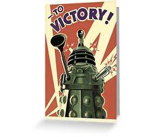 Doctor Who Dalek Greeting Card