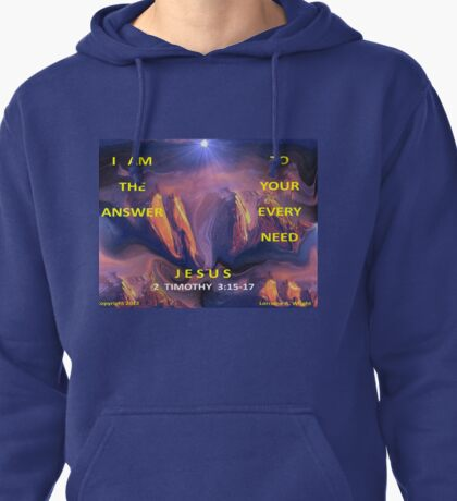 I AM ALL YOU NEED Pullover Hoodie