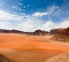 Wadi Rum desert, Jordan  by PhotoStock-Isra