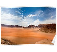 Wadi Rum desert, Jordan  Poster