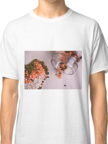 lentils and beans spread on a table top  Classic T-Shirt