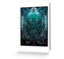 Cthulhu Greeting Card
