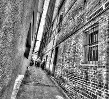 Abercrombie Lane.  by Ian Ramsay