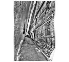 Abercrombie Lane.  Poster