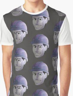 Hard Hat Grin........... Graphic T-Shirt