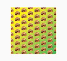 Burger Pattern Green Classic T-Shirt