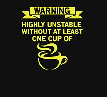 Warning Coffee Lovers Unisex T-Shirt