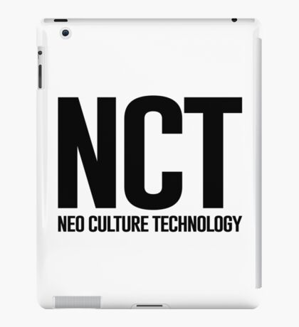 SM Neo Culture Technology (NCT) - Black iPad Case/Skin