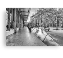 A Good Shadow Is Difficult to Resist - Martin Place - Sydney Metal Print