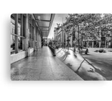 A Good Shadow Is Difficult to Resist - Martin Place - Sydney Canvas Print